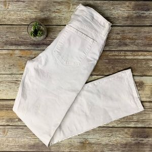 Not Your Daughters Jeans White Straight Leg Jeans
